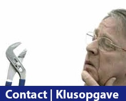 Contact of Klusopgave